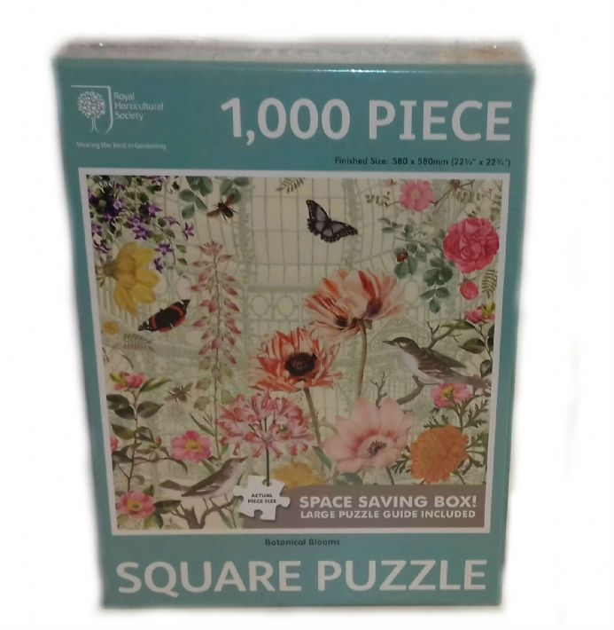 Botanical Blooms Square 1000 Piece Jigsaw